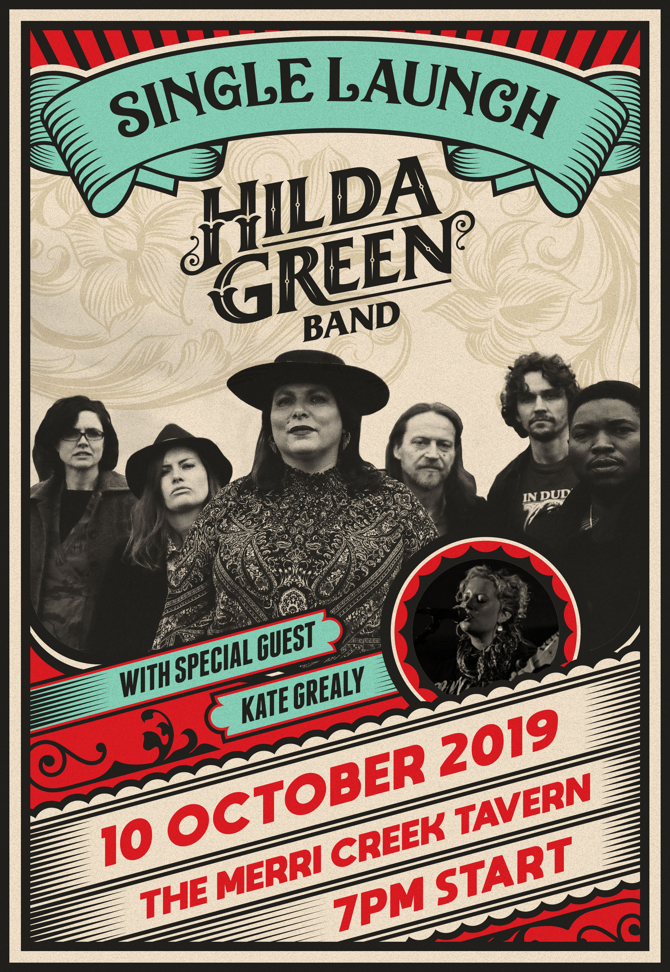 Hilda Green Ol' Lobo Single Launch