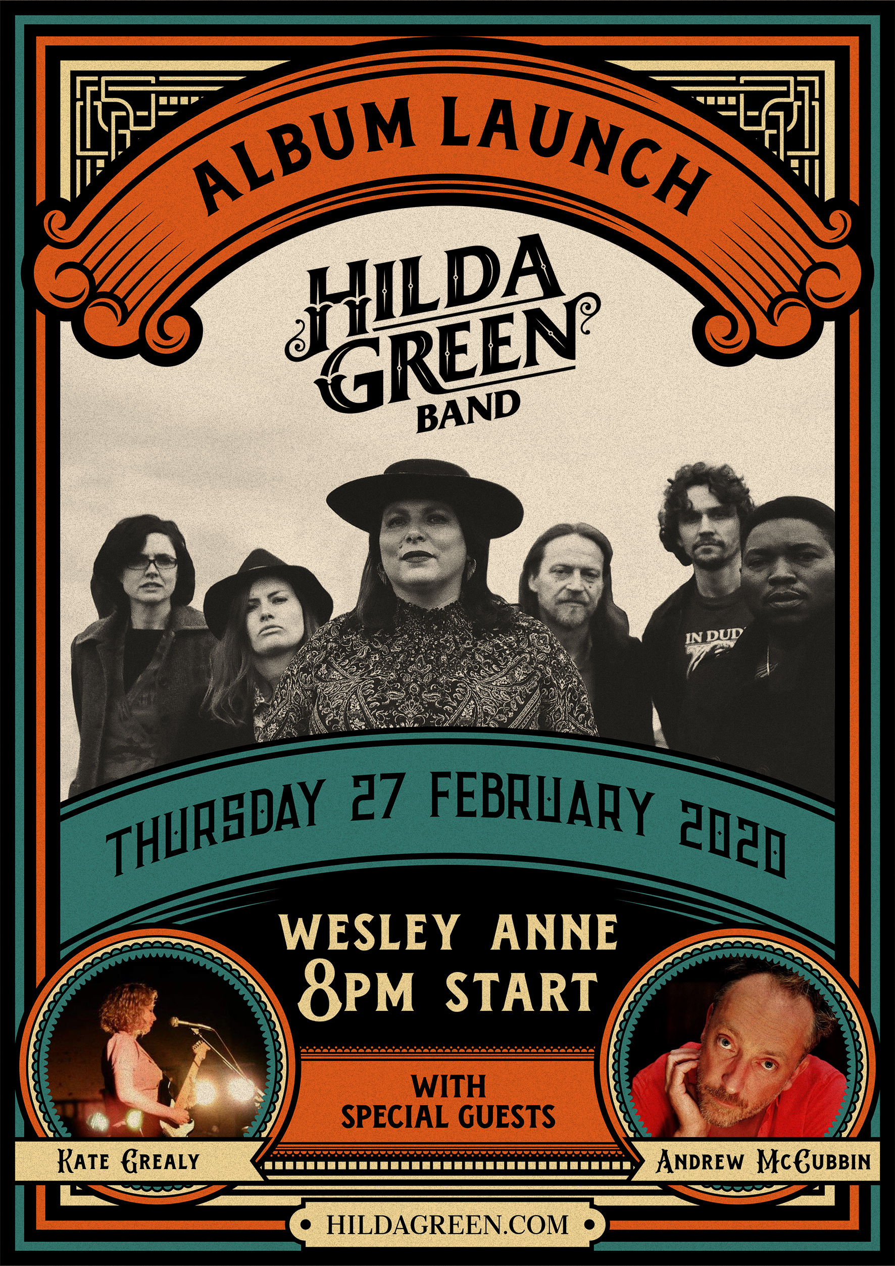 Hilda Green World Keeps Whirling Album Launch